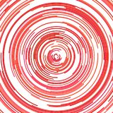 Psychedelischer abstrakter Halbkreishintergrund Lizenzfreie Stockfotos