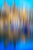 Psychedelischer Hintergrund basiert auf blured Landschaftsbild Lizenzfreies Stockbild