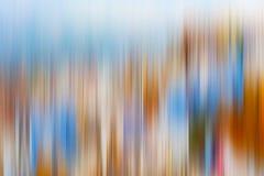Psychedelischer Hintergrund basiert auf blured Landschaftsbild Lizenzfreie Stockfotografie