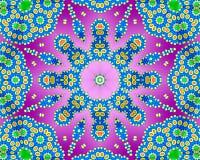 Psychedelisches Kaleidoskop Lizenzfreies Stockfoto