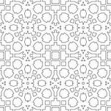 Psychedelisches nahtloses Muster für Entspannung lizenzfreie abbildung