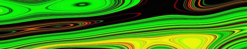 Psychedelisches Netzzusammenfassungsmuster und hypnotischer Hintergrund, futuristisch stock abbildung