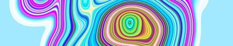 Psychedelisches Netzzusammenfassungsmuster und hypnotischer Hintergrund, kreativ vektor abbildung