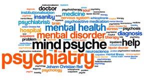 psychiatria Obrazy Stock