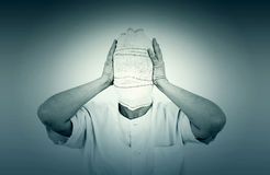 Psychiatric patient Royalty Free Stock Images