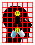 Psychiatric Patient Stock Image
