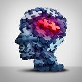Psychiatrische patiënt stock illustratie