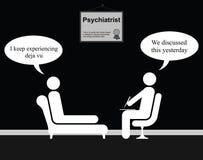 Psychiatrist Deja Vu Stock Image