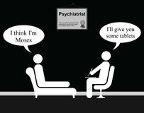 Psychiatrist Moses Stock Photo