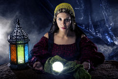 Free Psychic Fortune Teller Stock Photography - 82965892