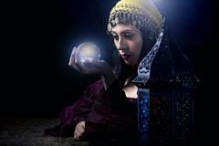 Psychic Fortune Teller Royalty Free Stock Photo