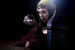 Psychic Fortune Teller Royalty Free Stock Photography
