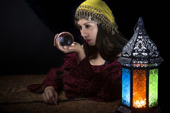 Psychic Fortune Teller Royalty Free Stock Photos