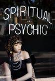 Psychische spiritual Stock Foto's