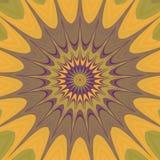 Psycho bloemenpatroon geproduceerde textuur Royalty-vrije Stock Foto's