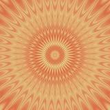 Psycho bloemenpatroon geproduceerde textuur Royalty-vrije Stock Afbeeldingen