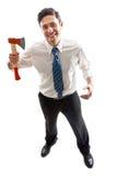 Psycho Businessman Stock Photography