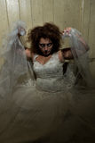 Psycho woman Royalty Free Stock Photos