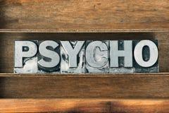 Free Psycho Word Tray Stock Photos - 100940703