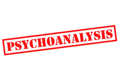 PSYCHOANALYSIS Stock Photography