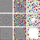 Psychodelic Muster Stockbilder