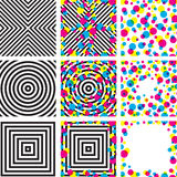 Psychodelic pattern Stock Images