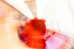 Psychodelic spin lights blurred background Royalty Free Stock Photo