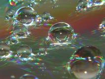 psychodelic vatten Arkivbild