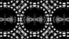 Psychodeliczny kalejdoskopu bieg w pętli ilustracja wektor