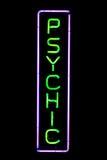 psychol znak neon Zdjęcie Royalty Free