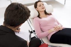 psycholog kobieta zdjęcie stock