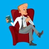 Psychologe, der bereit ist, Kenntnisse zu nehmen Stockfotos