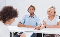 Psychologe, der Kenntnisse nimmt Lizenzfreies Stockbild