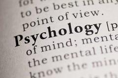 psychologia obrazy stock