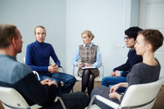 Psychological session Royalty Free Stock Images