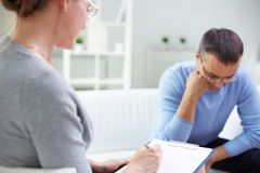 Psychological therapy Stock Photo