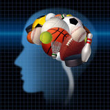 Psychologie de sport Image stock