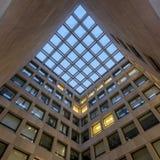 Psychologie-Gebäude-Mitte-Gericht Lizenzfreie Stockbilder