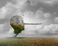 Psychologie van Leugen royalty-vrije illustratie