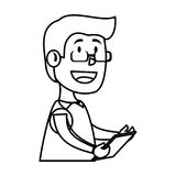 Psychologist avatar character icon Stock Image