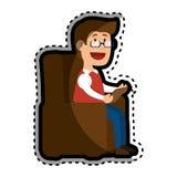 Psychologist avatar character icon Stock Photo