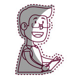 Psychologist avatar character icon Royalty Free Stock Photography