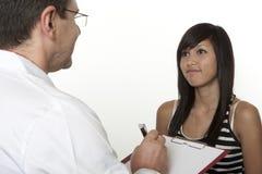 Psychologue d'école de consultation Photos stock