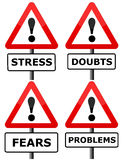 Psychology. Having all kind of personal problems Royalty Free Stock Images