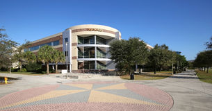 Psychology Building at UCF in Orlando, Florida. ORLANDO, FLORIDA, USA - FEBRUARY 25, 2017: The University of Central Florida`s Psychology building. Their mission royalty free stock photo