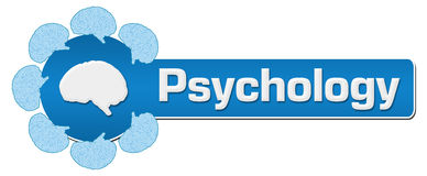 Psychology Circular Brain Horizontal Stock Photography
