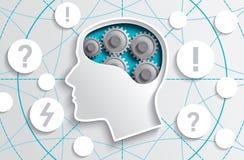 Psychology process Stock Photos