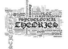 IS PSYCHOLOGY A SCIENCE Text Background Word Cloud Concept.  Stock Photo