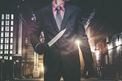 Psychopathic Urban Killer Royalty Free Stock Photography