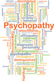 Psychopathy background concept Royalty Free Stock Image